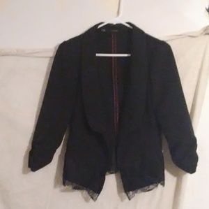 Maurices Lace Blazer Size M